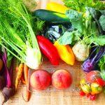 野菜と果物たっぷり食べて幸福度アップ‼